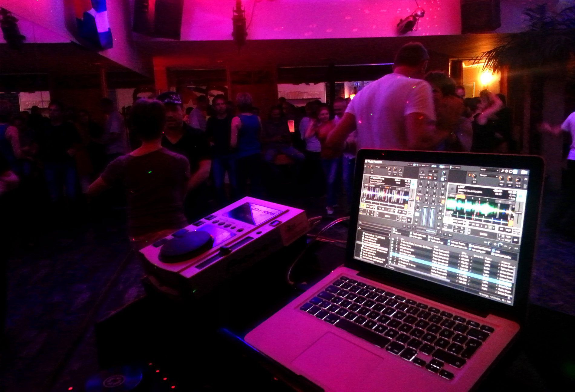 Party im Salsa Libre Clublokal