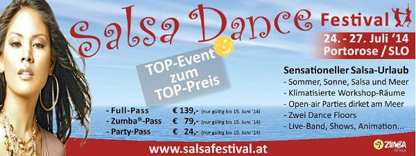 Salsa Dance Festival 2014 - Fahrt nach Portoroz