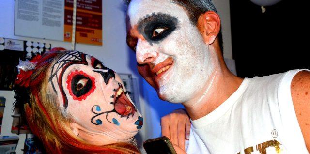 Bilder von Halloween Salsa im Club Salsa Libre