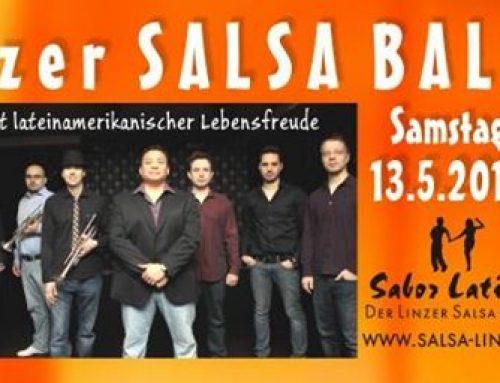 Mit Salsa Libre zum Salsa Ball Linz am 13.5.2017