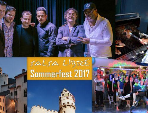 Salsa Libre Sommerfest: Starte mit uns in den Salsa-Sommer!
