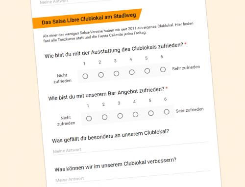 Salsa Libre Mitglieder-Umfrage 2018