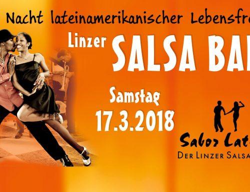 Ausflug zum Salsa Ball Linz 2018