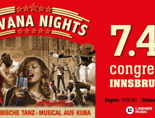 "AUSVERKAUFT Salsa Libre goes ""Havana Nights""-Musical 7.4.2019"