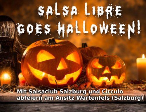 AUSVERKAUFT! Halloween-Party-Ausflug mit Salsa Libre nach Salzburg, Ansitz Wartenfels
