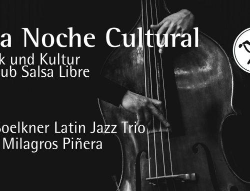 """""""Una Noche Cultural"""" – RobSoelkner Latin Jazz Trio feat. Milagros Piñera"""