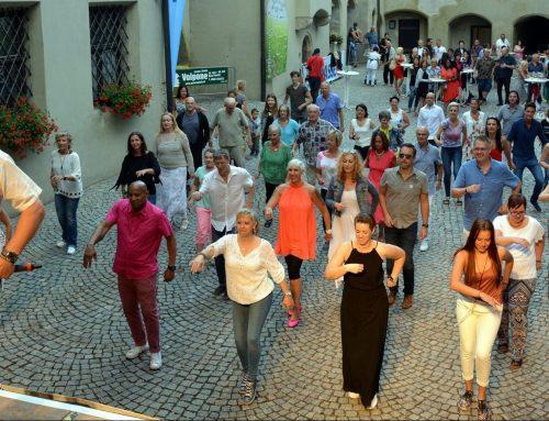 """Open Air Tanzen mit Salsa Libre: """"Für Tanz- und Lebensfreude"""" 21.5.2020"""