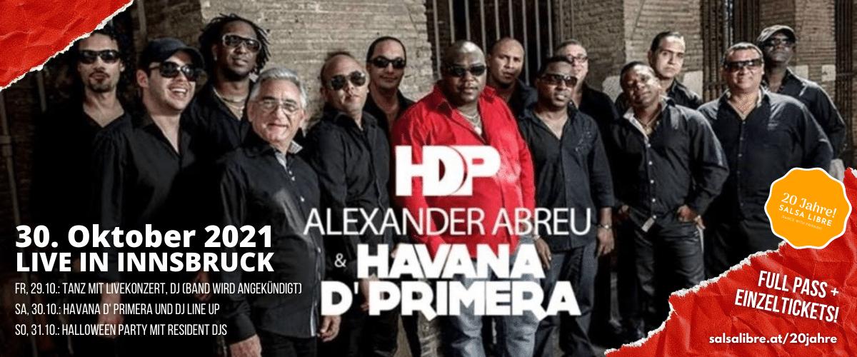 20 Jahre Salsa Libre - wir feiern mit Havana d' Primera!
