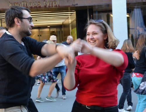 Open Air Tanzen mit Salsa Libre!