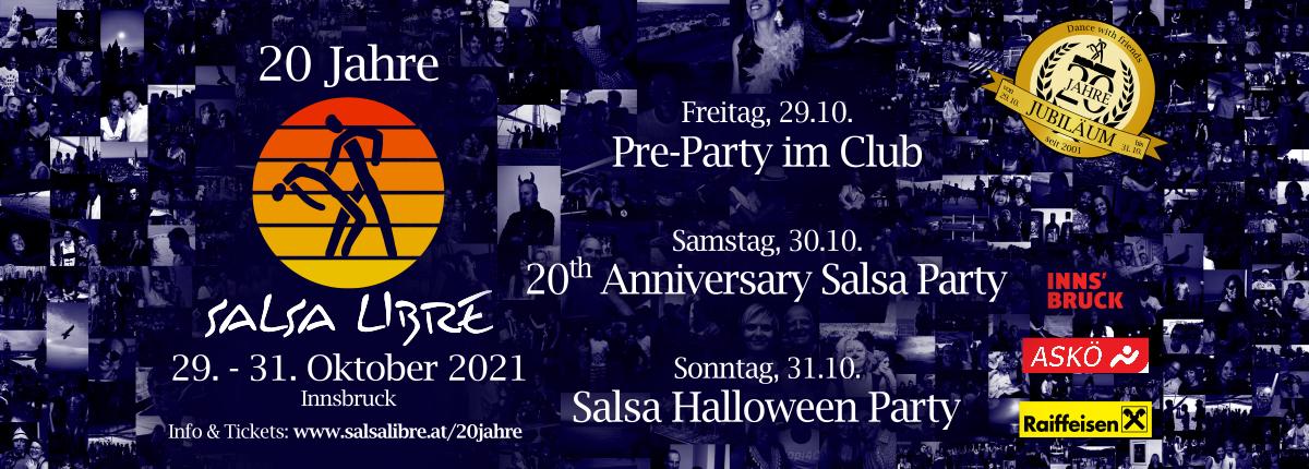 20 Jahre Salsa Libre 3 Tage 3 Partys!